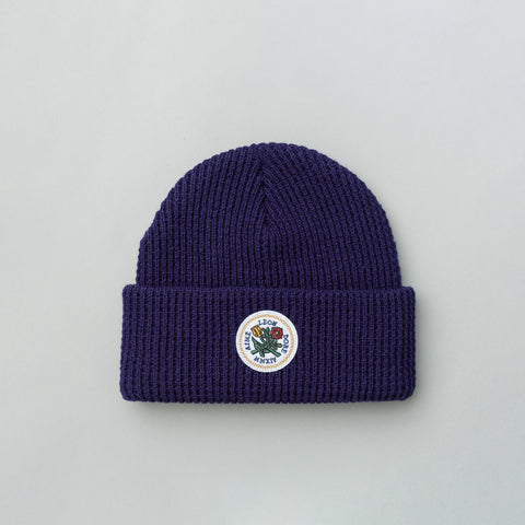 Aimé Leon Dore Waffle Knit Beanie in Navy - Notre