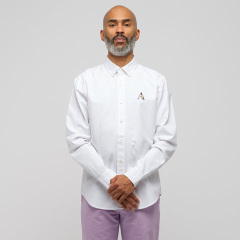 Aimé Leon Dore Classic Oxford Shirt in White - Notre