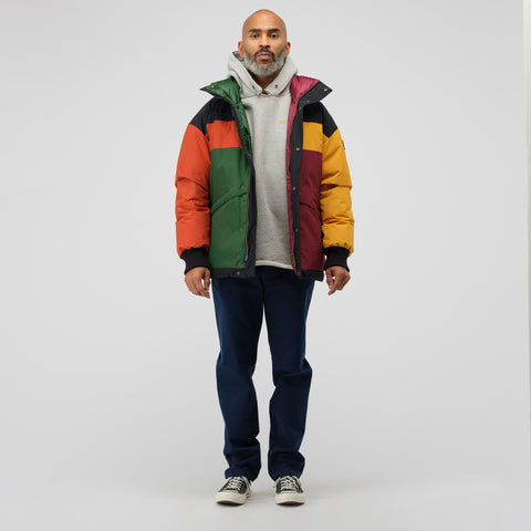 Aimé Leon Dore x Woolrich Color Blocked Down jacket in Multi - Notre