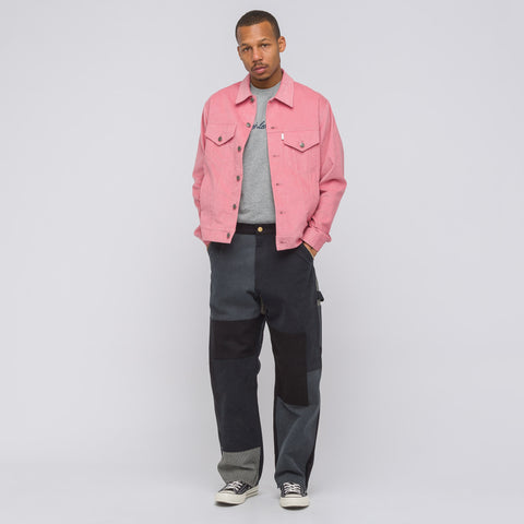 Aimé Leon Dore Corduroy Trucker Jacket in Dusty Pink - Notre
