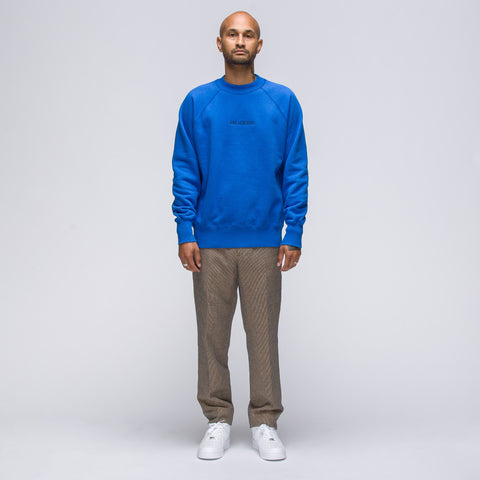 Aimé Leon Dore Crewneck Sweatshirt in French Blue - Notre
