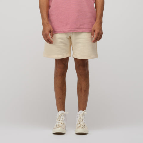 Aimé Leon Dore French Terry Shorts in Custard - Notre