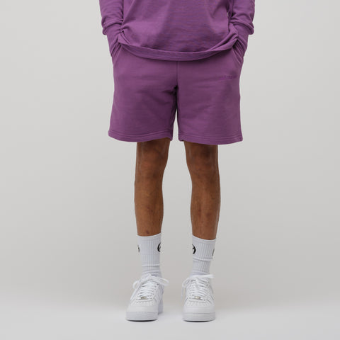 Aimé Leon Dore French Terry Shorts in Purple Tape - Notre