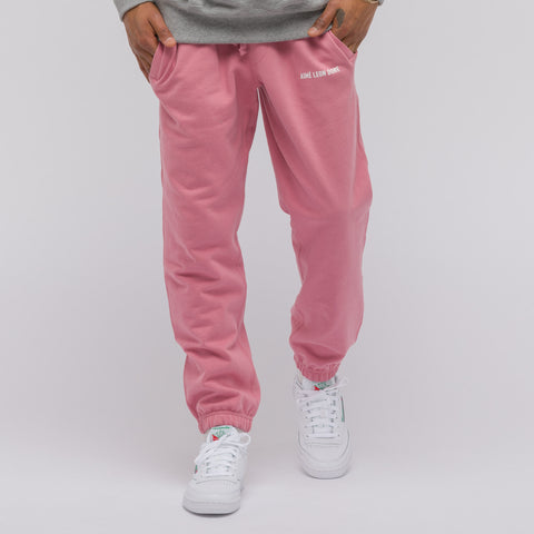 Aimé Leon Dore French Terry Camper Pant in Dusty Pink - Notre