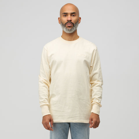 Aimé Leon Dore Long Sleeve Logo T-Shirt in Custard - Notre