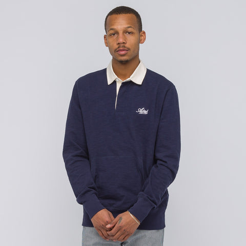 Aimé Leon Dore Long Sleeve Rugby Shirt in Navy - Notre