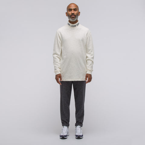Aimé Leon Dore Long Sleeve Turtle Neck in Vintage White - Notre