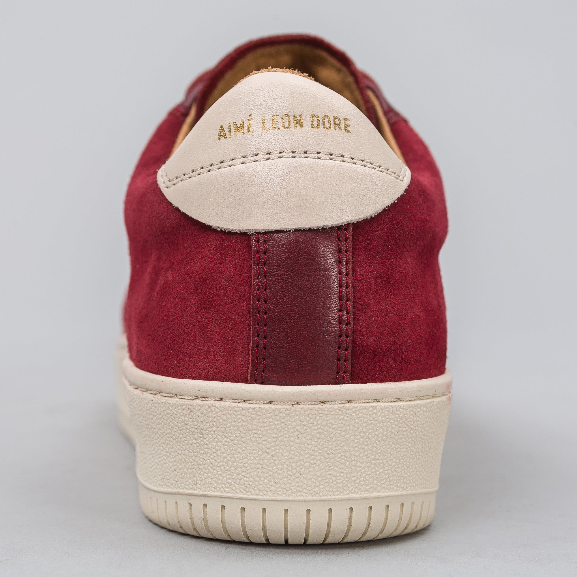 Q14 Low in Burgundy Suede