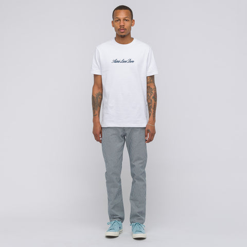 Aimé Leon Dore Short Sleeve Script T-Shirt in White - Notre