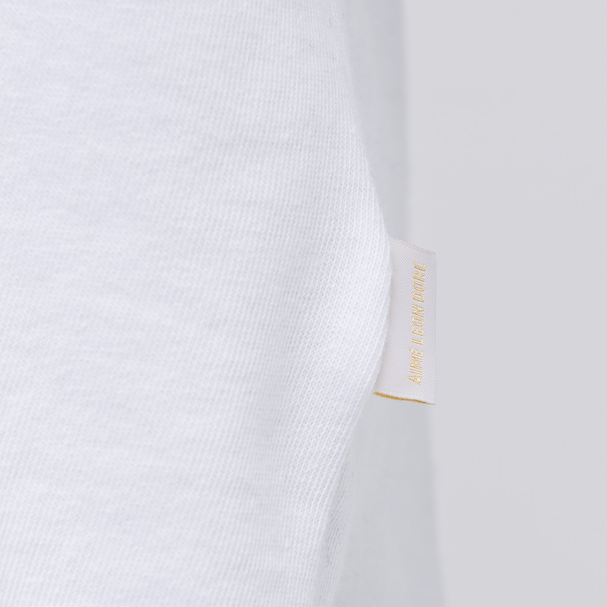 Short Sleeve Script T-Shirt in White
