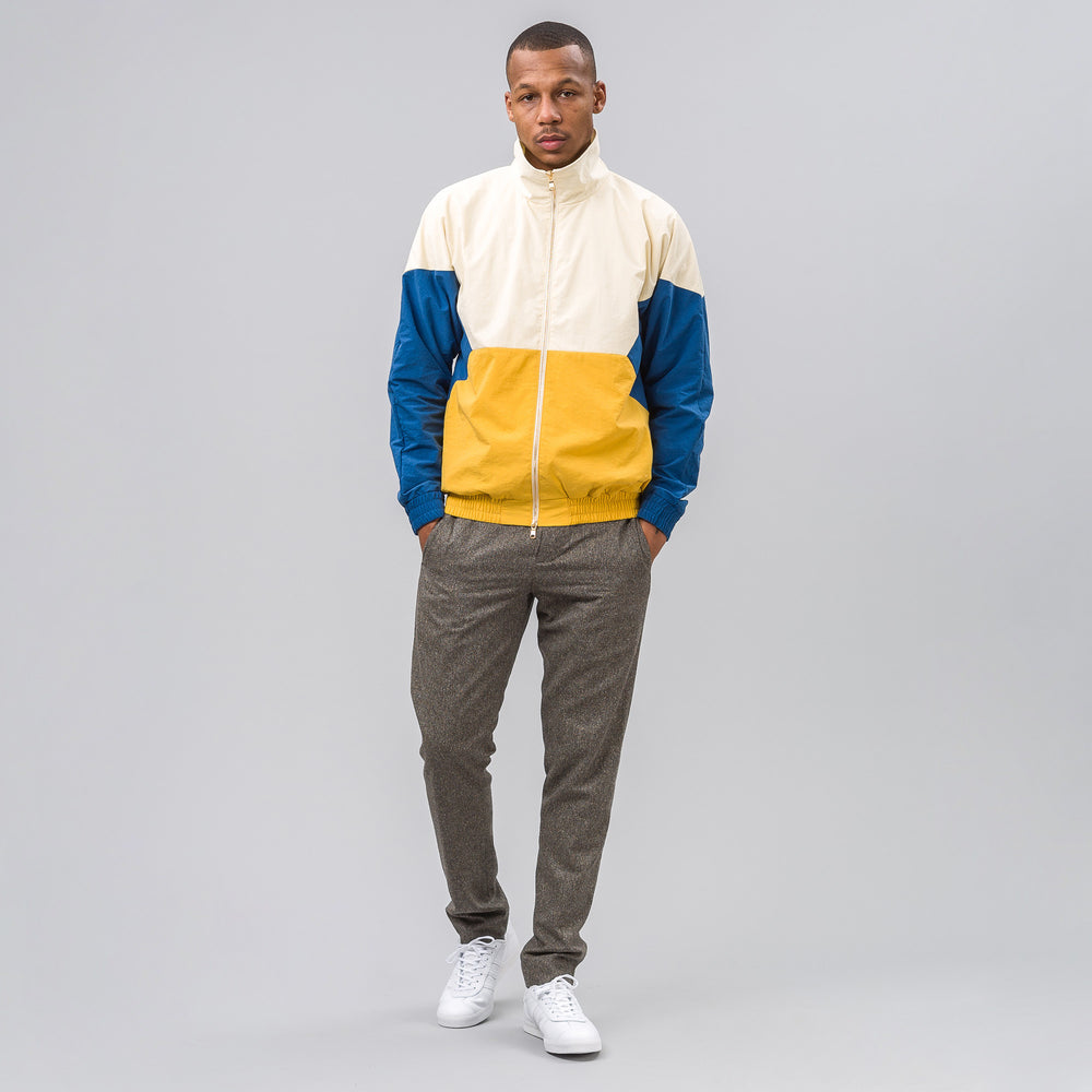 Aimé Leon Dore Zip Windbreaker in Cream - Notre