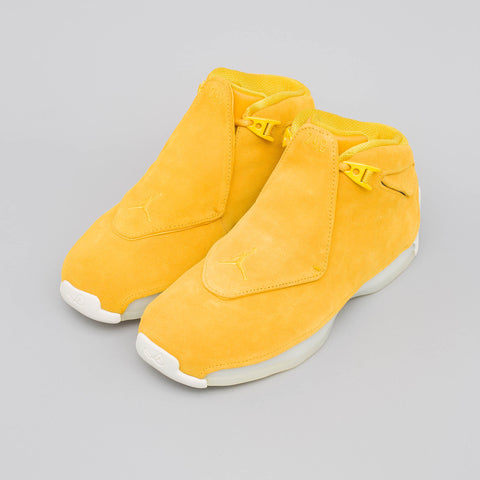 Jordan Air Jordan 18 Retro in Yellow Ochre - Notre