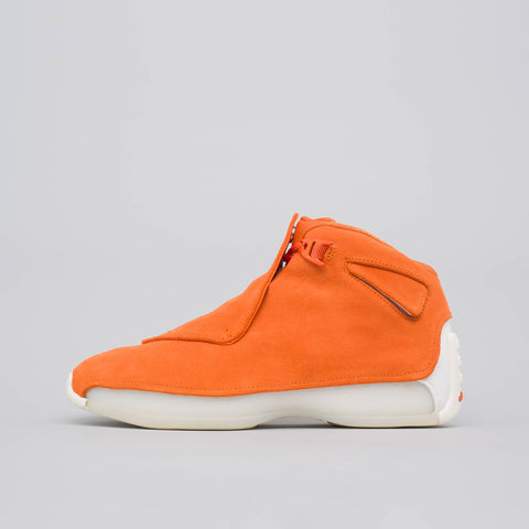 Jordan Air Jordan 18 Retro in Campfire Orange - Notre