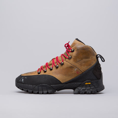 Alyx Studio Brown Washed Hiking Boot - Notre
