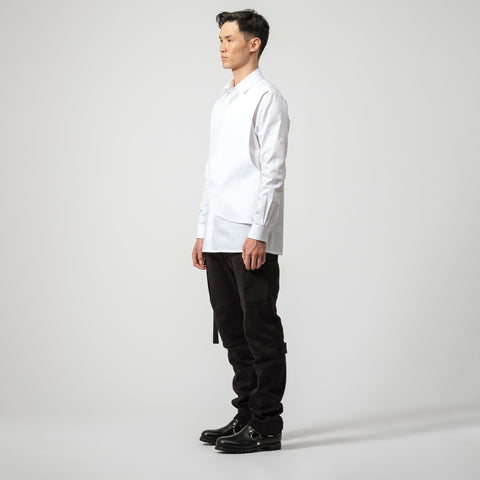 1017 ALYX 9SM Cross Panel Button Up in White - Notre