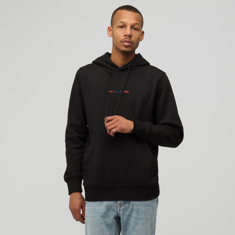 Alyx Studio Logo Collection Hoodie in Black - Notre