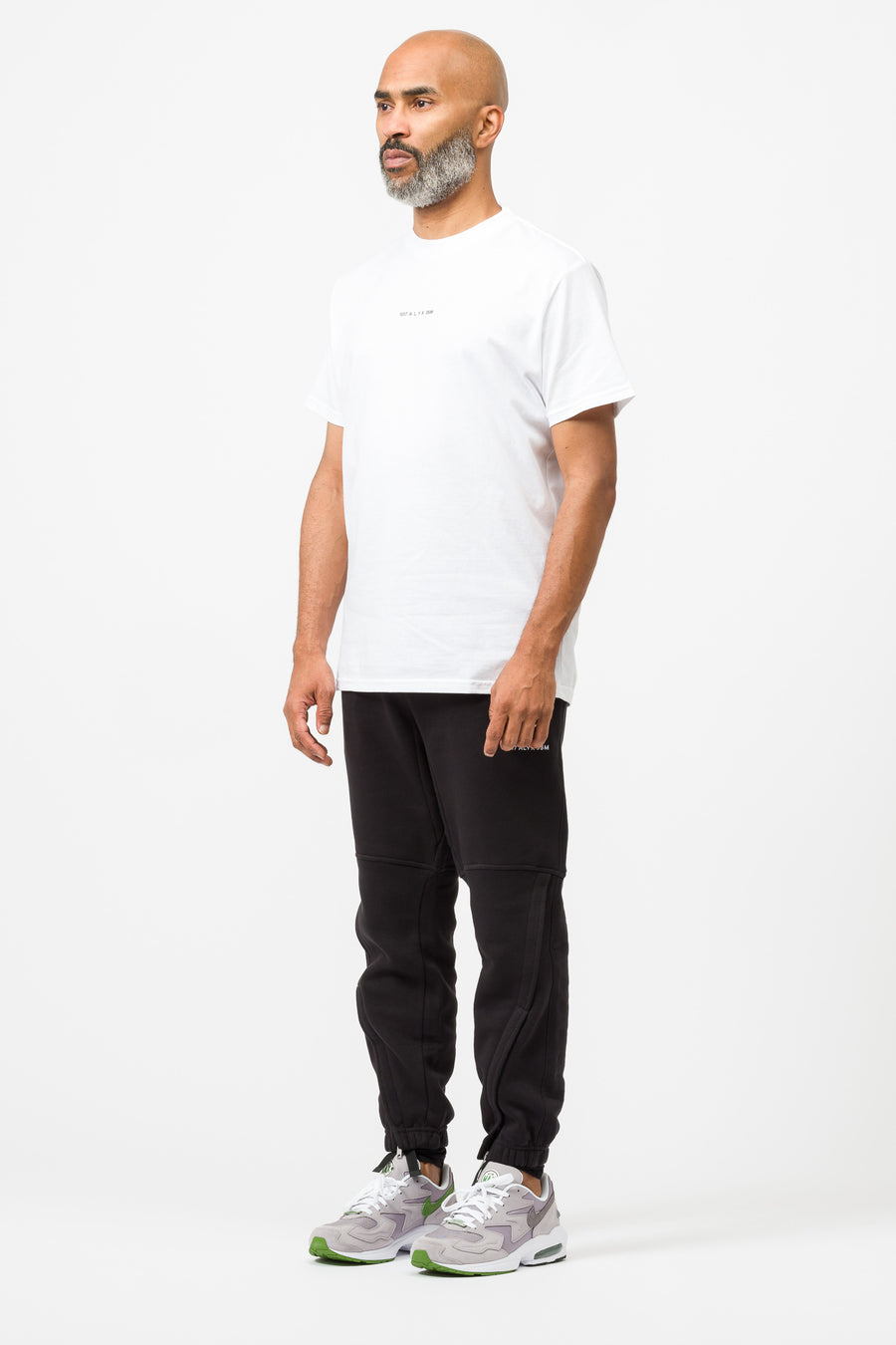 1017 ALYX 9SM Short Sleeve Visual T-Shirt in White - Notre