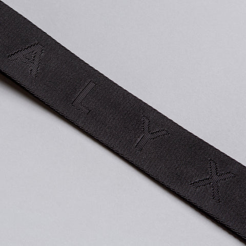 Alyx Studio Big Jacquard Belt in Black - Notre