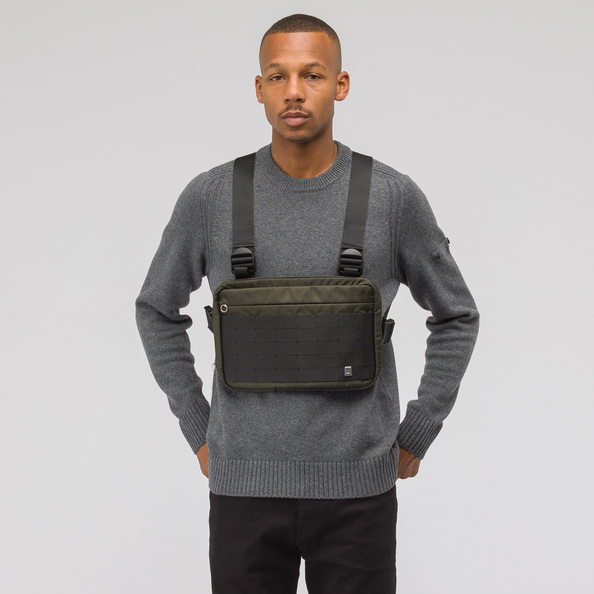 Chest Rig in Military Green