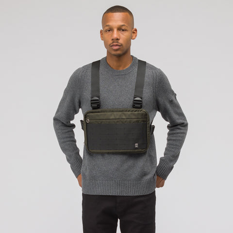 Alyx Studio Chest Rig in Military Green - Notre