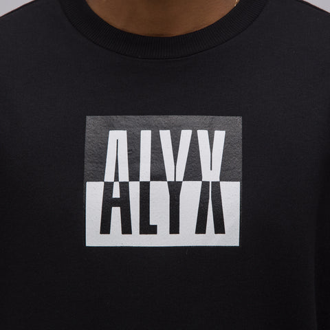 Alyx Studio Color-block T-Shirt in Black - Notre