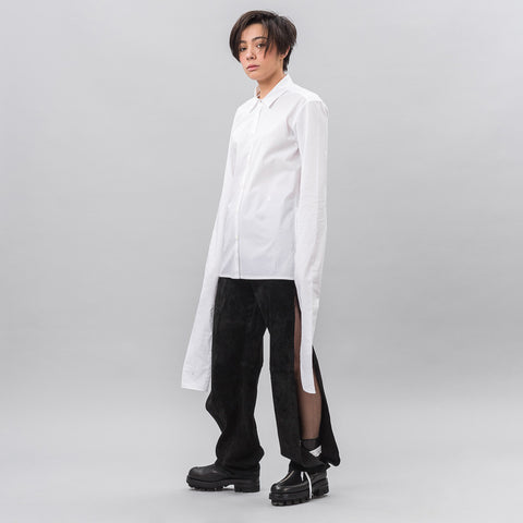 Alyx Studio Infinity Sleeve Shirt in White - Notre