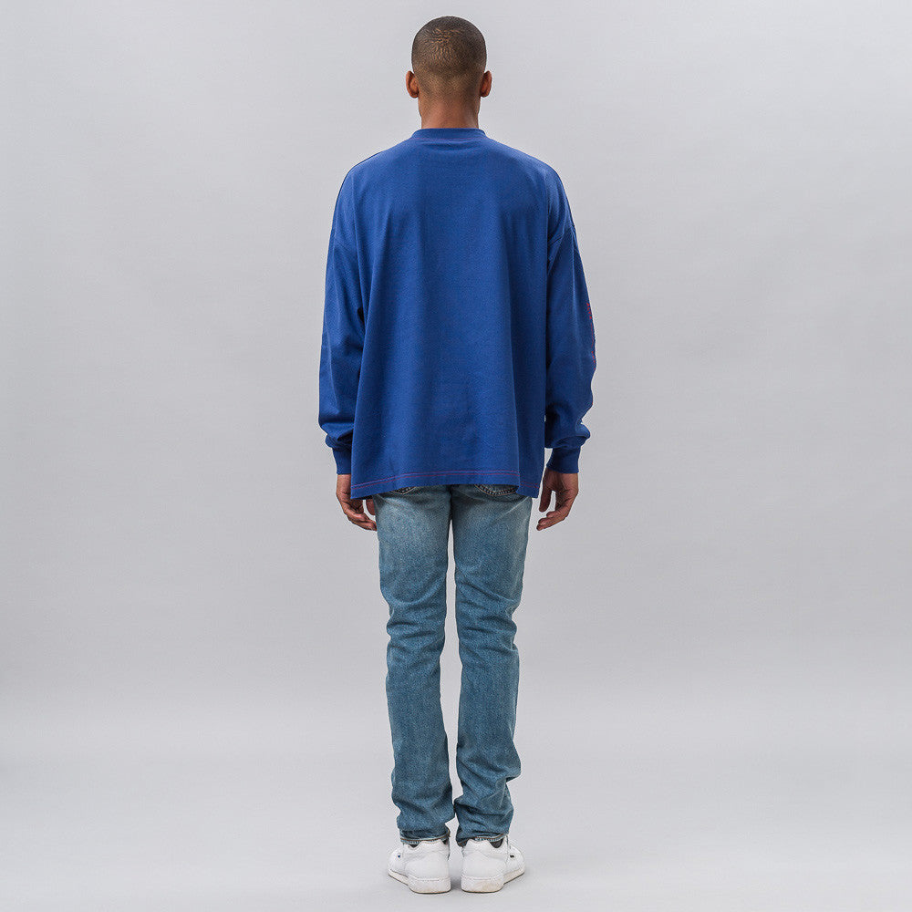 New Happiness L/S Tee in Bluette