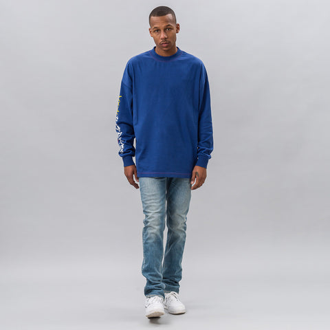 Alyx Studio New Happiness L/S Tee in Bluette - Notre