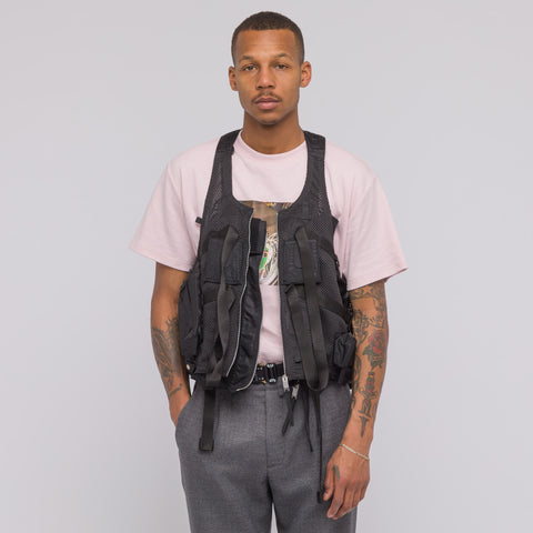 Alyx Studio Military Style Vest in Black - Notre
