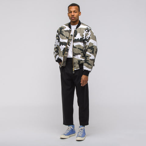 Alyx Studio Halcyon Blvd Jacket in Camo White - Notre