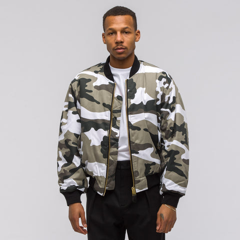 Alyx Studio Pilot Jacket in Camo White - Notre