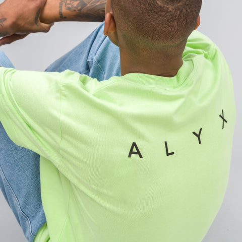 Alyx Studio Pocket Tee in Acid Green - Notre