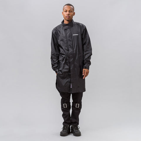 Alyx Studio x Spidi Nylon Rain Jacket in Black - Notre