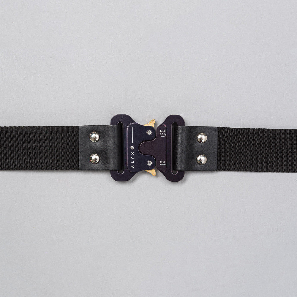 Alyx Rollercoaster Belt with Buckle in Black Notre 1