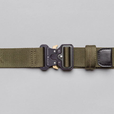 Alyx Studio Rollercoaster Belt in Green - Notre