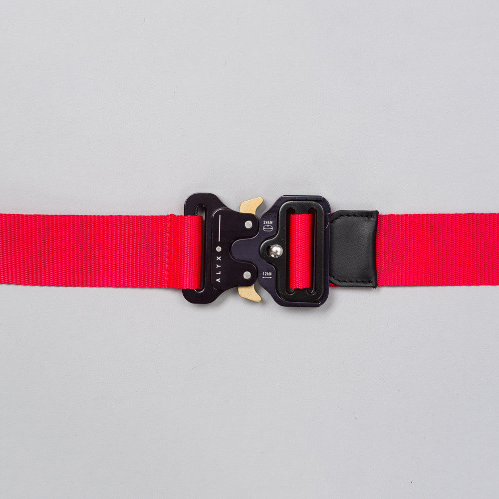 Alyx Studio Rollercoaster Belt in Red - Notre