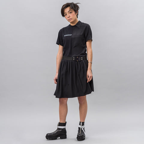 Alyx Studio Split Dress in Black - Notre
