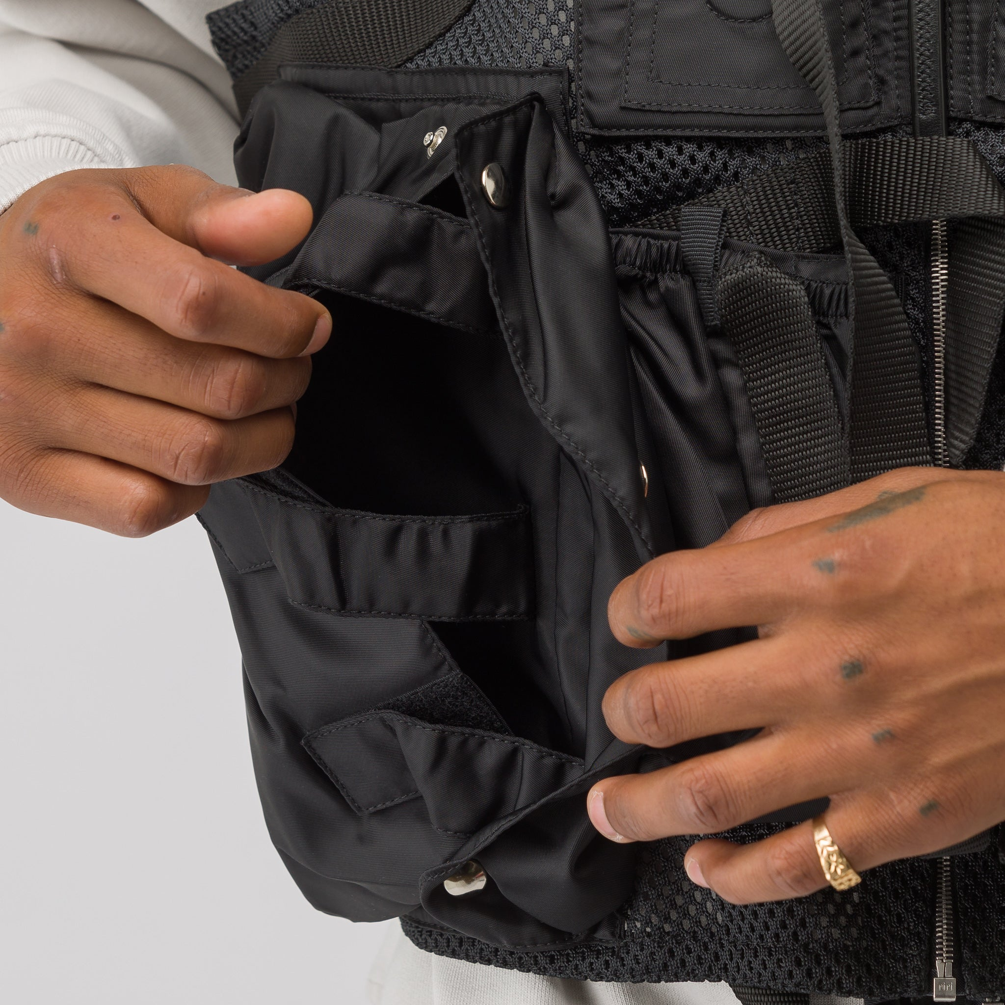 Tactical Vest in Black