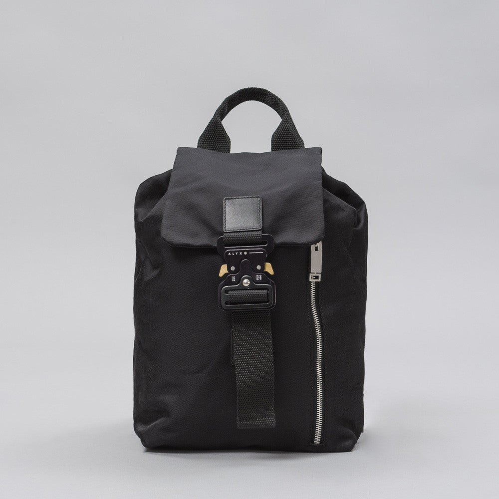 Alyx Studio Tank Backpack in Black Shine - Notre