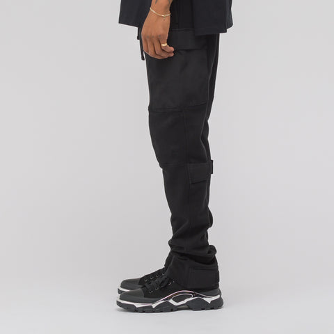 Alyx Studio Utility Sweatpant in Black - Notre