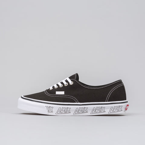 Alyx Studio Alyx x Vans Vault OG Authentic LX in Black/White - Notre