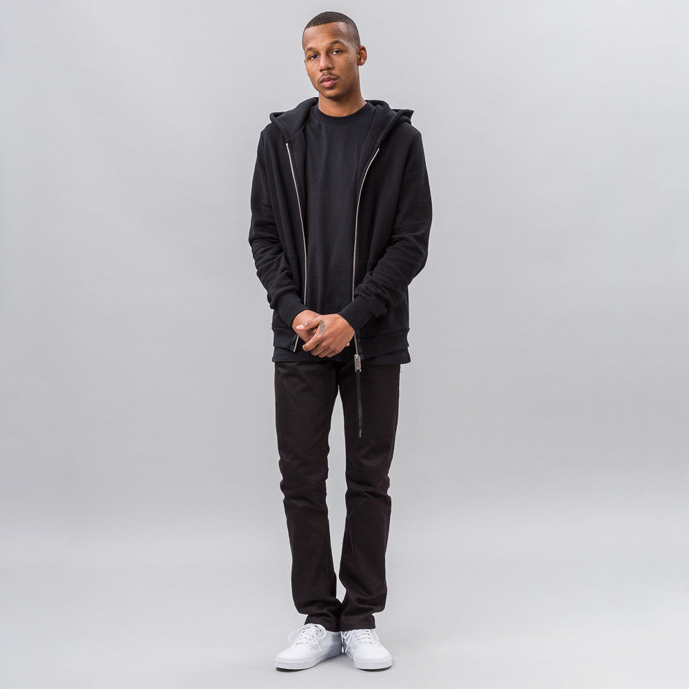 Alyx Studio Zip-up Hoodie in Black - Notre