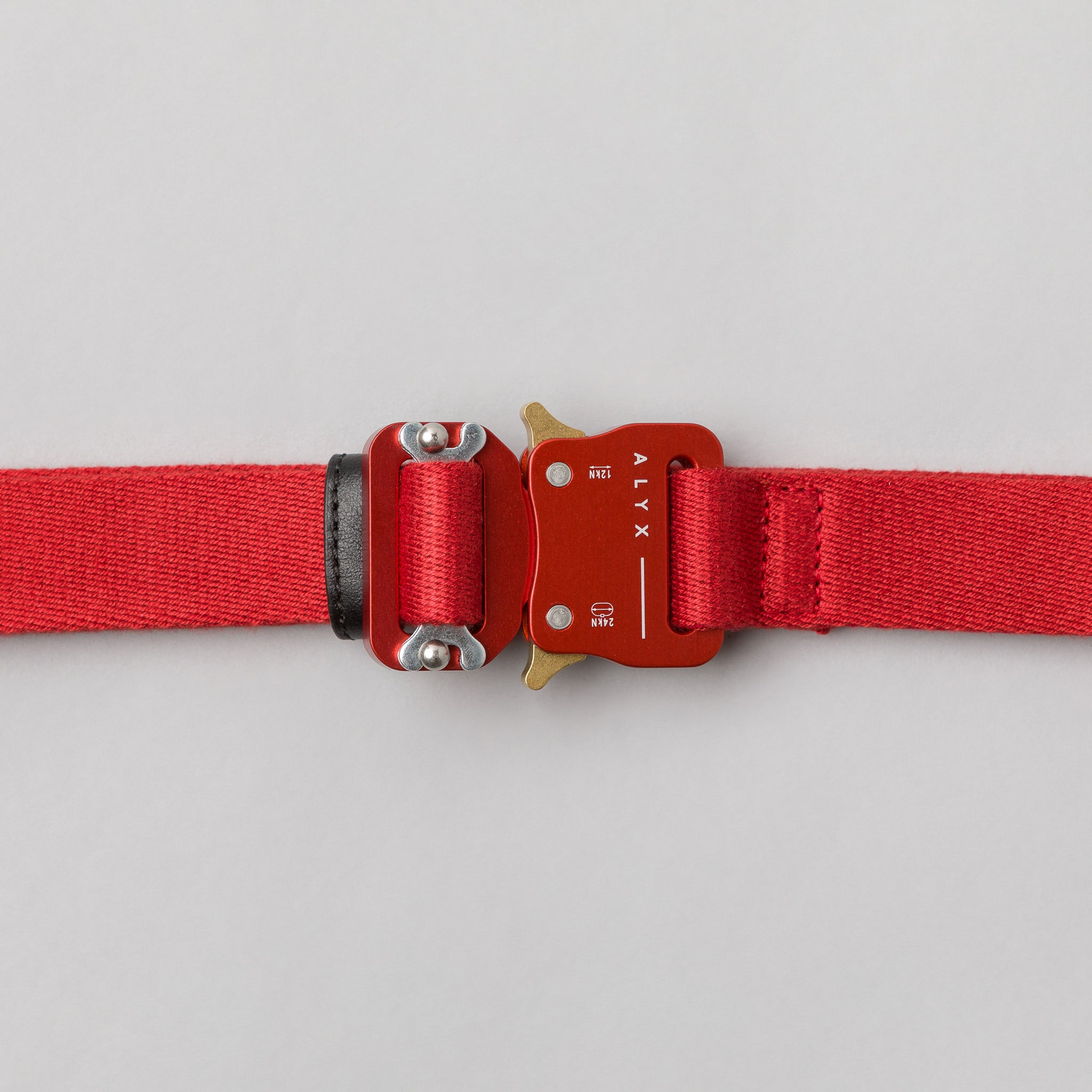 Medium Rollercoaster Belt in Red