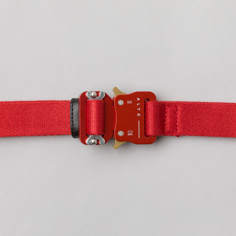 Alyx Studio Medium Rollercoaster Belt in Red - Notre