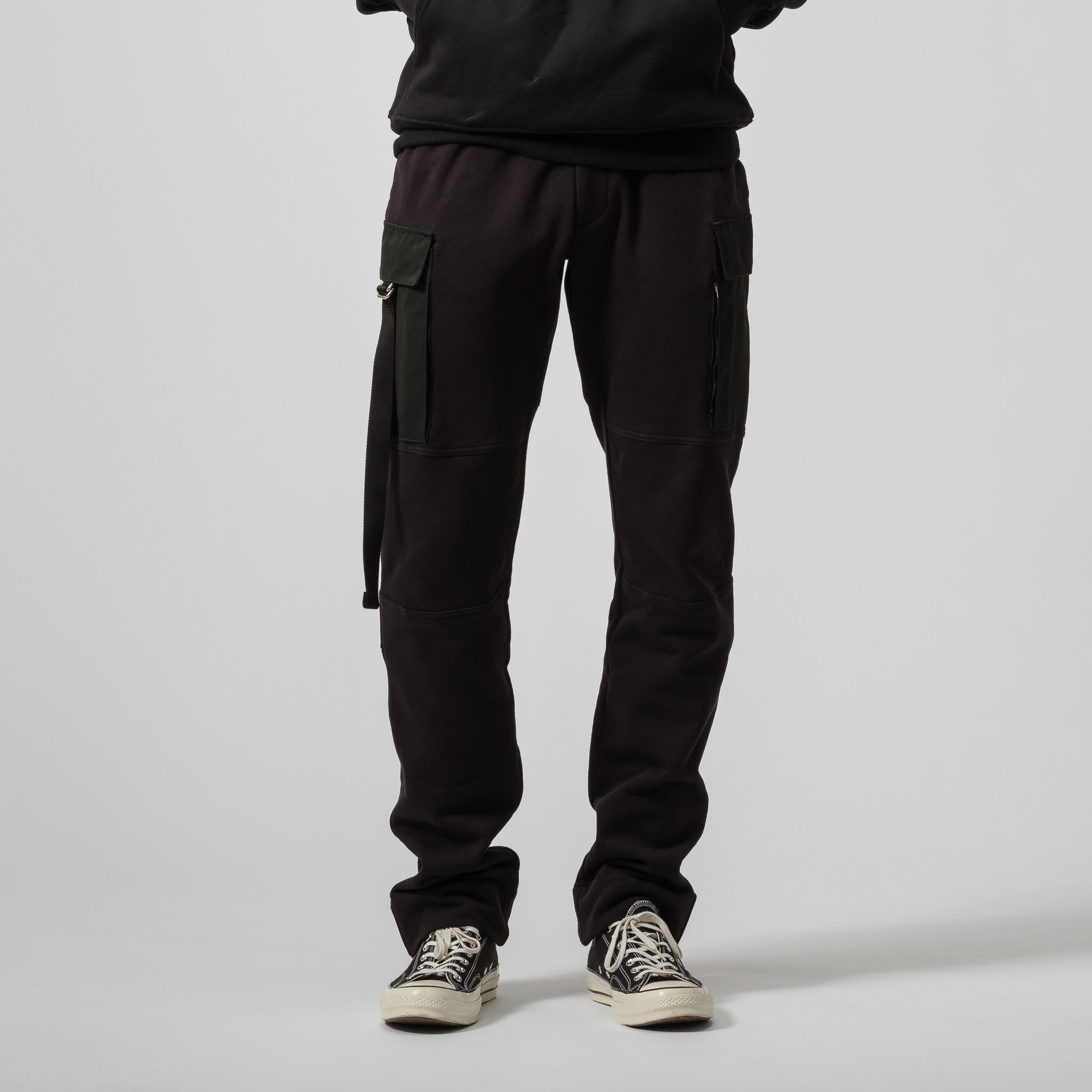 Utility Sweatpant in Black