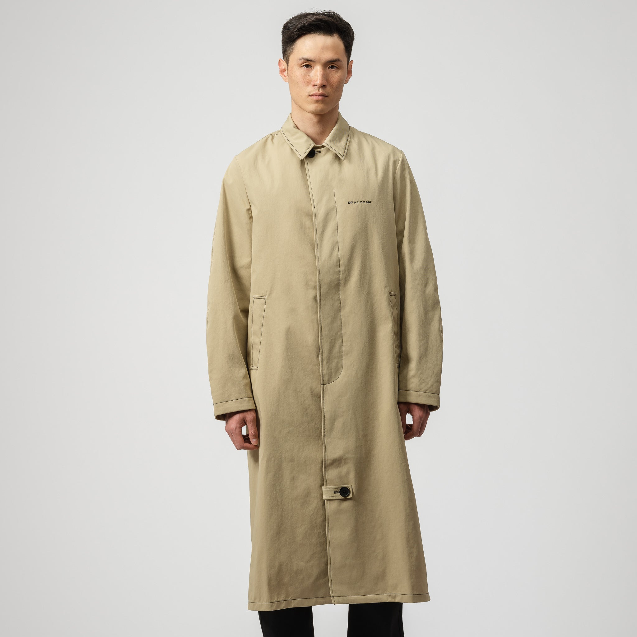Williams Classic Coat in Tan