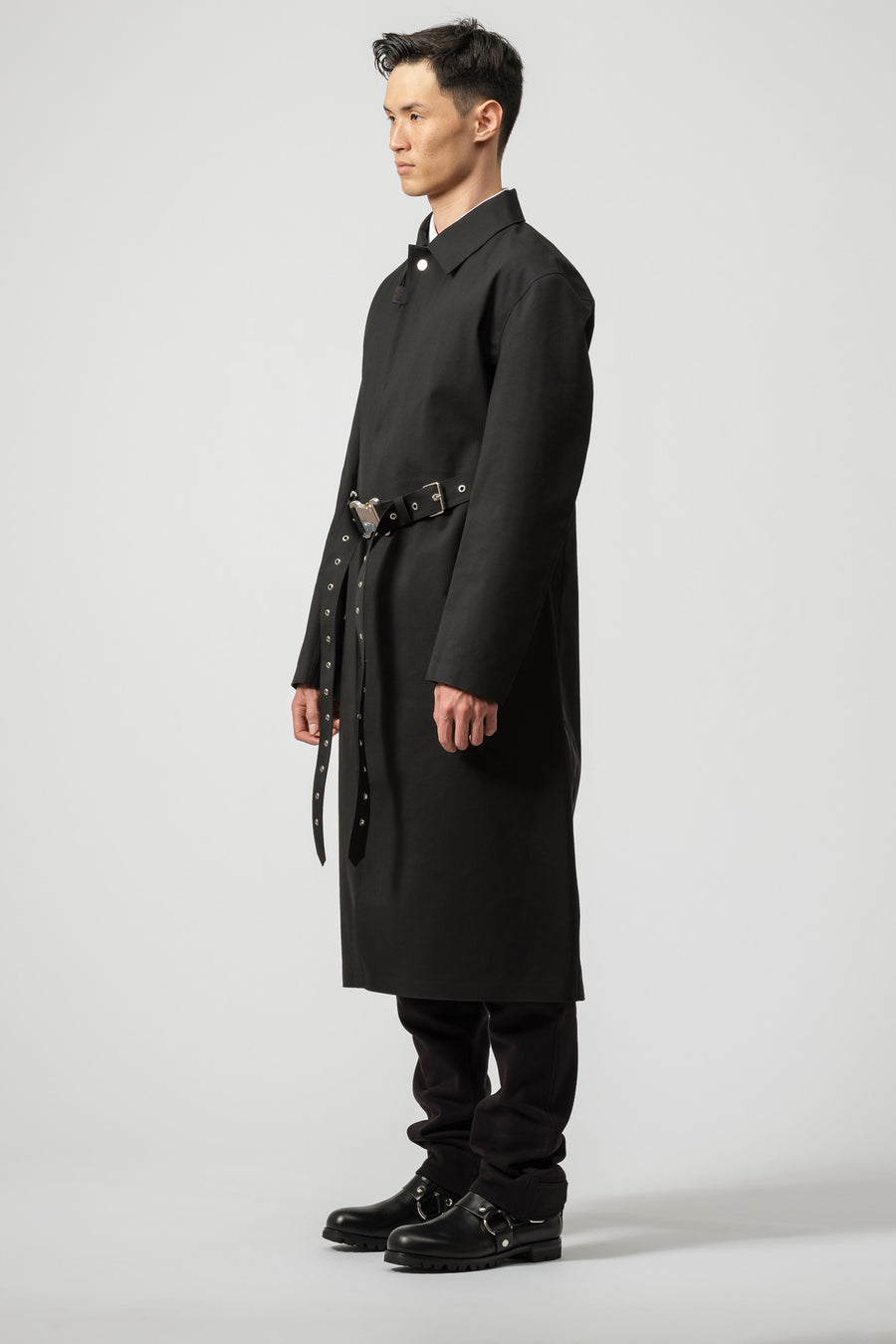 1017 ALYX 9SM x Mackintosh Formal Coat in Black - Notre