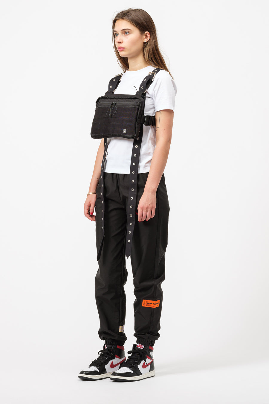 1017 ALYX 9SM x Mackintosh Strap Chest Rig in Black - Notre