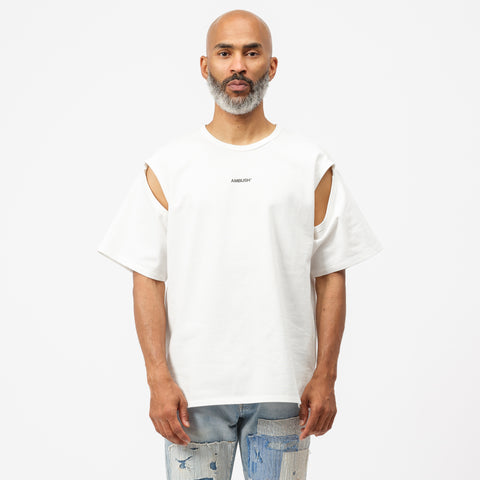 2Way T-Shirt in White