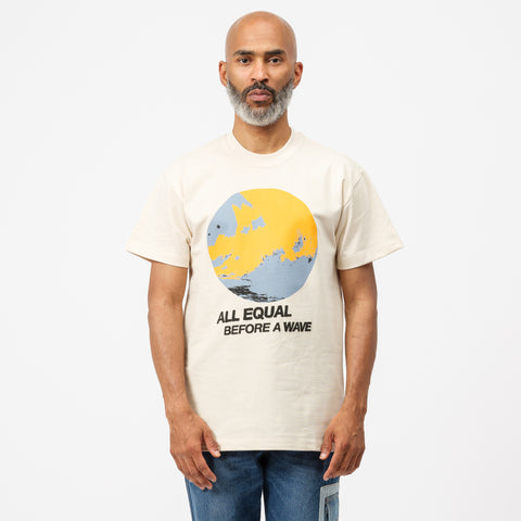 All Equal T-Shirt in Beige